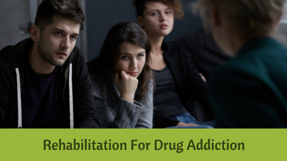 Rehabilitation for drug addiction recovery