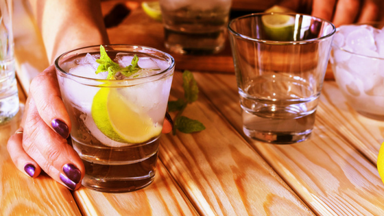 Effects of alcohol on dental health