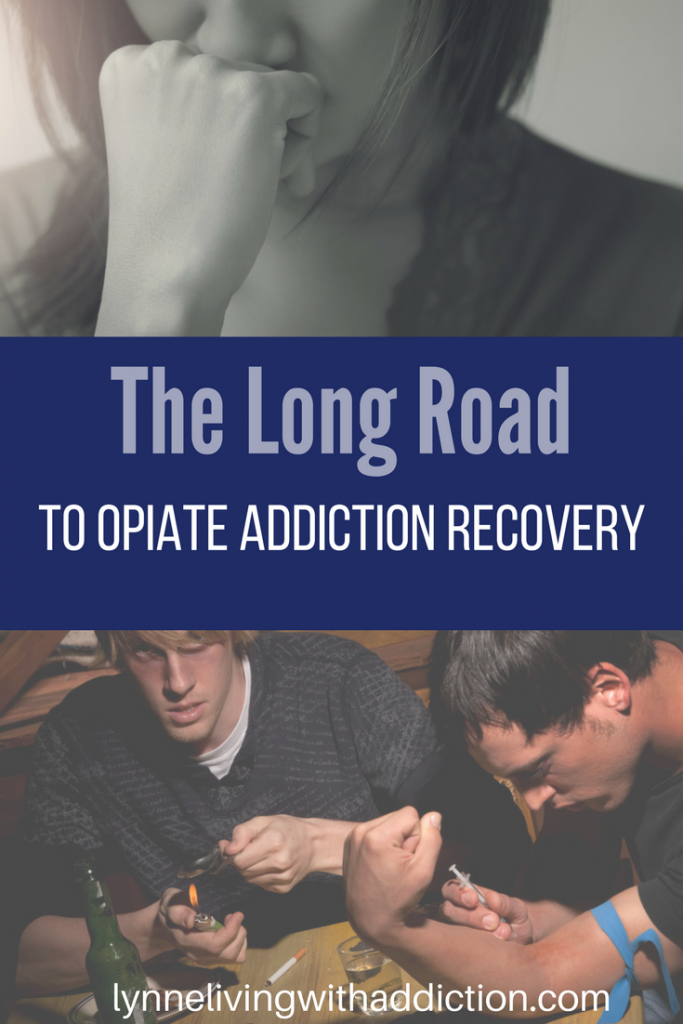 Opiate addiction recovery pin