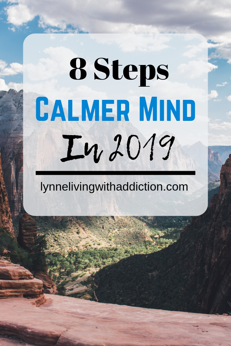8 Steps to a Calmer Mind in 2019